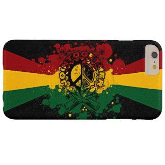 rasta Reggae-Graffiti-Musikkunst Barely There iPhone 6 Plus Hülle