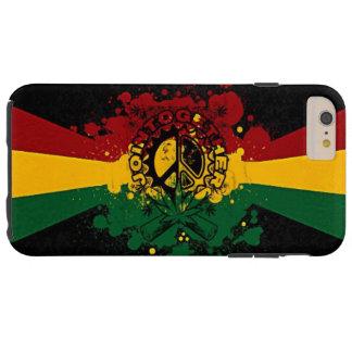 rasta Reggae-Graffiti-Musikkunst Tough iPhone 6 Plus Hülle