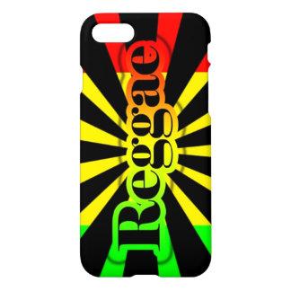 rasta Reggae-Graffitiflagge iPhone 7 Hülle