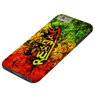 rasta Reggae-Graffitiflaggen-Kunstmusik Tough iPhone 6 Plus Hülle