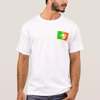 Rasta Reggae-königliches Wappen mit gekrönter T-Shirt