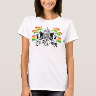 Rasta Reggae-königliches Wappen T-Shirt