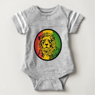 rasta Reggae-Löweflagge Baby Strampler