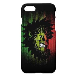 rasta Reggae-Löweflagge iPhone 7 Hülle