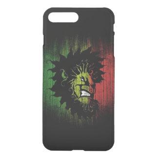rasta Reggae-Löweflagge iPhone 7 Plus Hülle