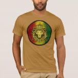 rasta Reggae-Löweflagge T-Shirt