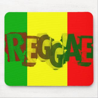Rasta Reggae rasta Mann-Musik-Graffiti Mauspad