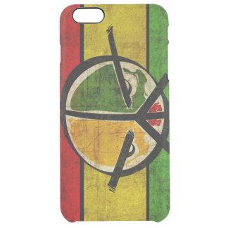 rasta Reggaefrieden Durchsichtige iPhone 6 Plus Hülle