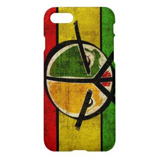 rasta Reggaefrieden iPhone 7 Hülle