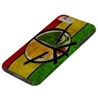 rasta Reggaefrieden Tough iPhone 6 Plus Hülle