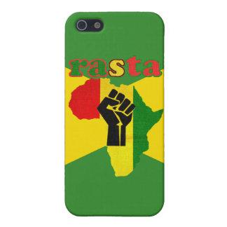 Rasta schwarze Power-Faust über Afrika iPhone 5 Schutzhülle
