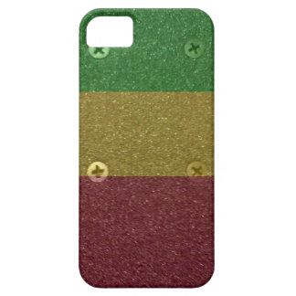 Rasta Skateboard Griptape Barely There iPhone 5 Hülle