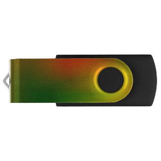 Rasta Spritzen der Farbe USB Stick