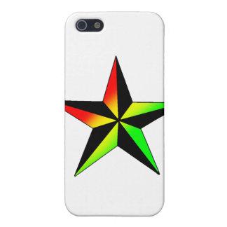 Rasta Stern iPhone 5 Hülle