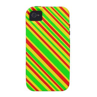 Rasta Süßigkeits-Streifen Case-Mate iPhone 4 Case