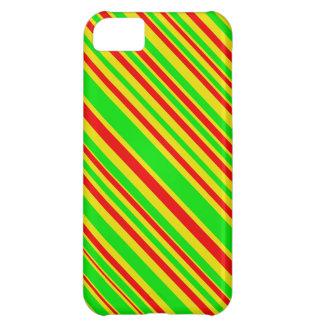Rasta Süßigkeits-Streifen iPhone 5C Hülle