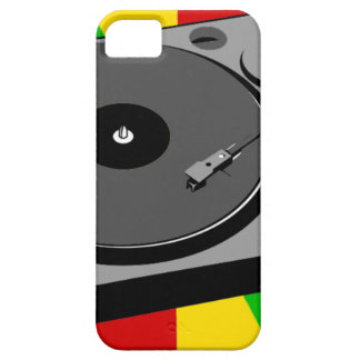 Rasta Turntable iPhone 5 Cover