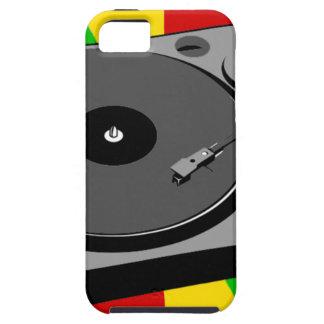 Rasta Turntable iPhone 5 Schutzhülle