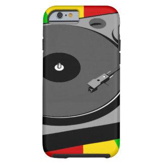 Rasta Turntable Tough iPhone 6 Hülle