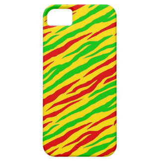 Rasta Zebra-Streifen Barely There iPhone 5 Hülle