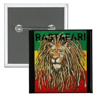 Rastafari Abzeichen Button