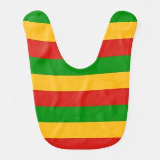 RASTAFARI FLAGGEN-FARBEN + Ihre Ideen Babylätzchen