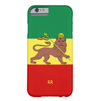 Rastafari Reggae-Musik-Flagge iPhone 6 Fall Barely There iPhone 6 Hülle