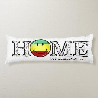 Rastafari Stolz-lächelnder FlaggeHousewarming Seitenschläferkissen