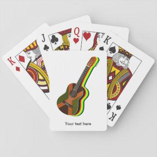 Rastafarian Reggae-Gitarre Spielkarten