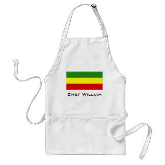 Rastafarian Stolz-Flagge Schürze