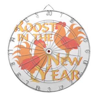 Rastplatz im neuen Jahr Dartscheibe