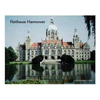 Rathaus Hannover Postkarte