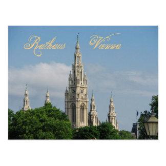 Rathaus (Rathaus) von Wien (Wien), Österreich Postkarte
