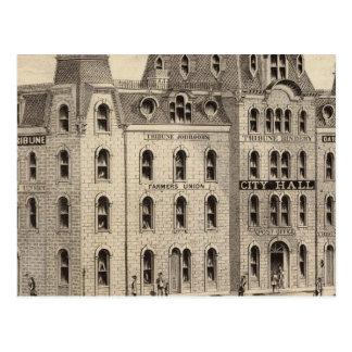 Rathaus von Minneapolis, Minnesota Postkarte