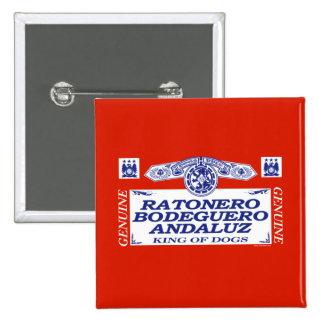 Ratonero Bodeguero Andaluz Anstecknadel