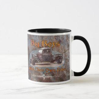 Ratrod LKW-rostiges Metall Tasse