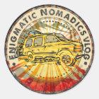 Rätselhafte Nomadics Aufkleber für Verkauf