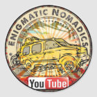 Rätselhafter Nomadics Aufkleber