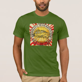 Rätselhaftes nomadisches T-Shirt