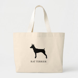 Ratte Terrier Jumbo Stoffbeutel