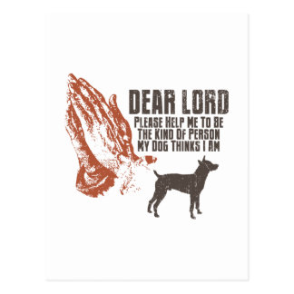 Ratte Terrier Postkarte