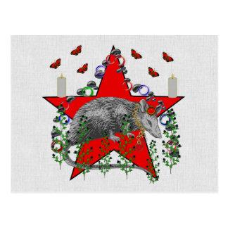 Ratten-Gott Postkarten