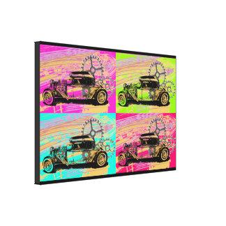 Ratten-Rod-Pop-Kunst Leinwanddruck