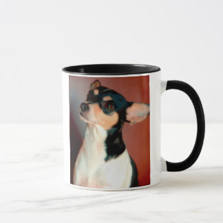 Ratten-Terrier-Hundezucht-Tasse Tasse