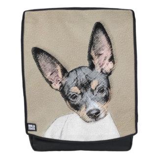 Ratten-Terrier-Malerei - niedliche ursprüngliche Rucksack