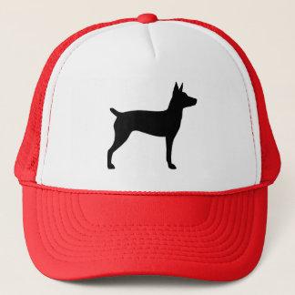 Ratten-Terrier-Silhouette Truckerkappe