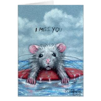 Ratten-trauriger Surfer, du fehlst mir Karte
