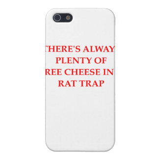 Rattenfalle iPhone 5 Etuis