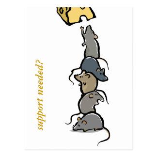 Rattenturm - kundengerecht postkarte