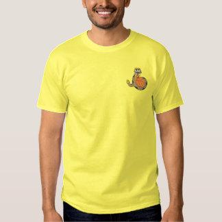 Rattler-Basketball Besticktes T-Shirt
